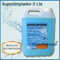 Superlimpiador genérico. Sirve para suelos y mesas. Perfumado.