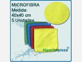 Bayetas de Microfibra