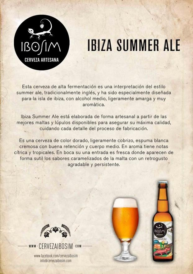 Ibiza Summer Ale.