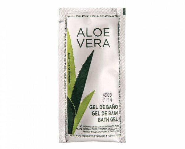 Gel de baño. Sobre de Aloe Vera de 10 ml