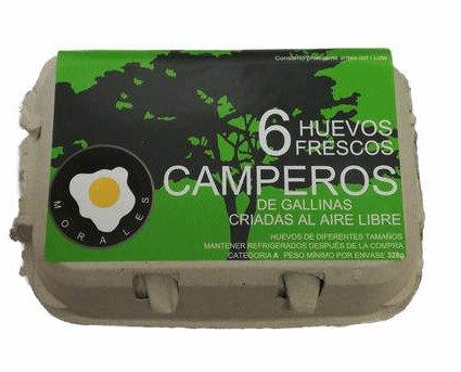 Huevos Camperos.Un producto cada vez más frecuente en el hogar