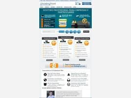 Página principal de hostingfront