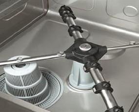 Brazo y filtro. Repuestos de lavavajillas, lavaplatos y lavavasos.