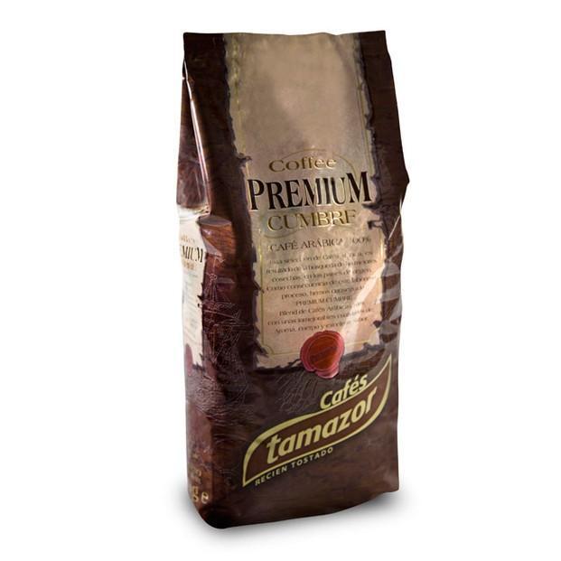 Café Cumbre premium. Café premium gourmet