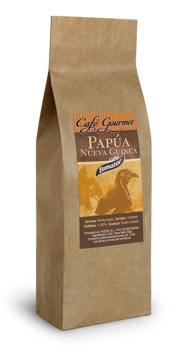 Papua. Café de Papúa Nueva Guinea