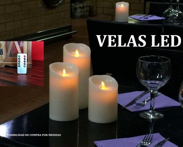Velas Led. Velas de LED en un diseño elegante y de alta calidad. Las nuevas velas con iluminación LED son una gran alternativa a las velas tradicionales. Se trata de...