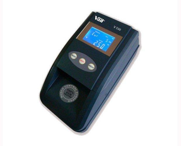 Detector Billetes. Posee una tecnología avanzada contra la falsificación de Euros