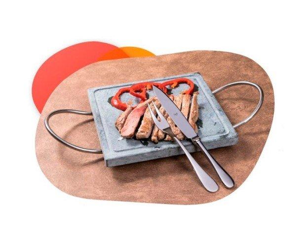 cuchillo-tenedor-bistec-americanojpg. Colección de cubiertos al estilo americano