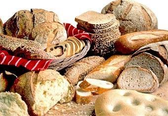 Panes. Pan pronto para ser calentado al horno