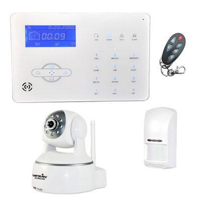 Kit de alarma. Kit de alarmas y cámaras sin cuota