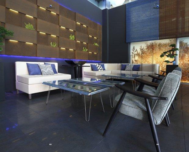 Decoradores Interioristas.Proyecto de decoración para lounge en Madrid