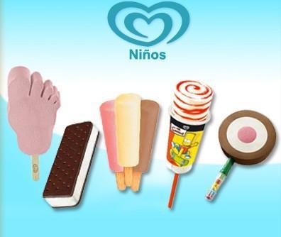 Helados para niños. Encuentra su línea de helados para niños