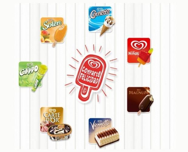 Helado.Descubre los helados Frigo en todos sus formatos