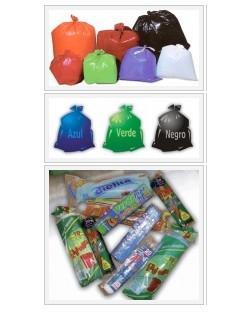 Consumibles para hostelería. Bolsas de basura, envases comida, film
