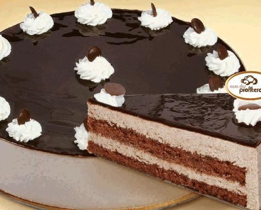 Tartas congeladas. Semifrío de chocolate, peso: 1.5kg