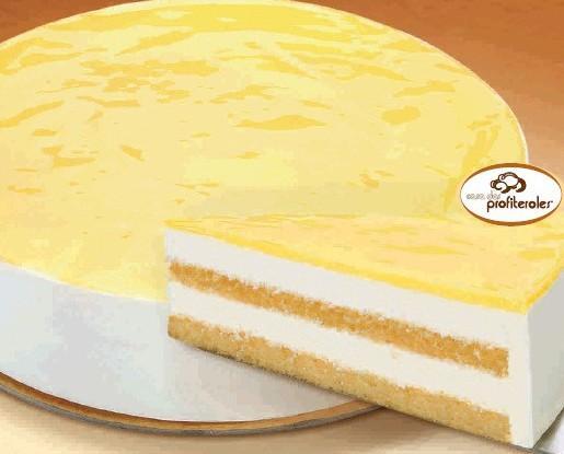 Semifrio de limón. Peso: 1,5 kg