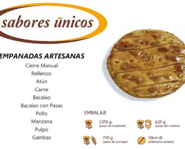 Empanadas artesanas. Variedad de rellenos