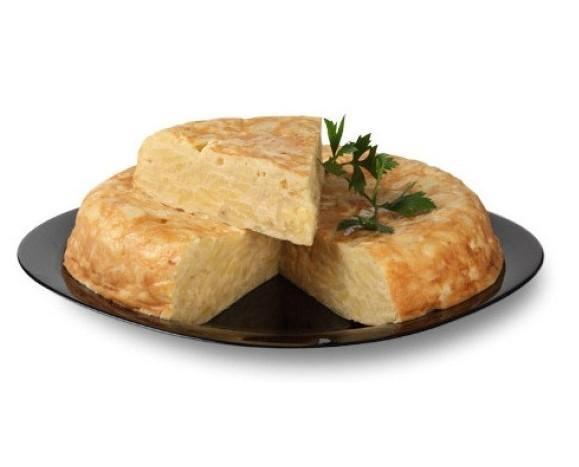Tortilla de patatas. De 800 gramos