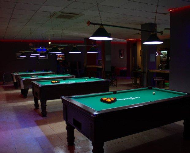 Billar para bar. Instalación de billar para negocios de hostelería gratis