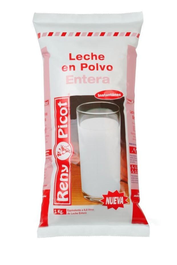 Leche. Leche en Polvo. Formato de 1 kilo