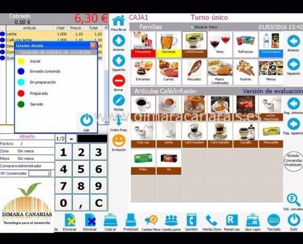 Software para Cafeteria. Software que se adaptan a las necesidades del negocio