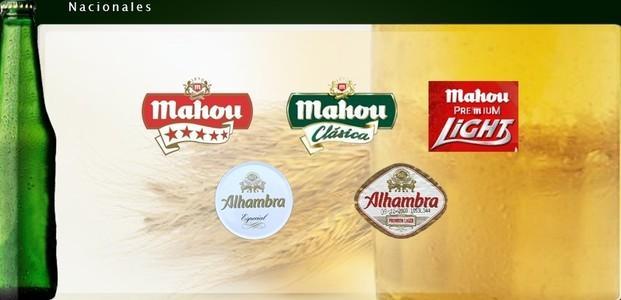 Cervezas. Todas las marcas. Nacionales e internacionales