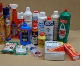 Limpiadores. Productos de marcas comerciales de consumo