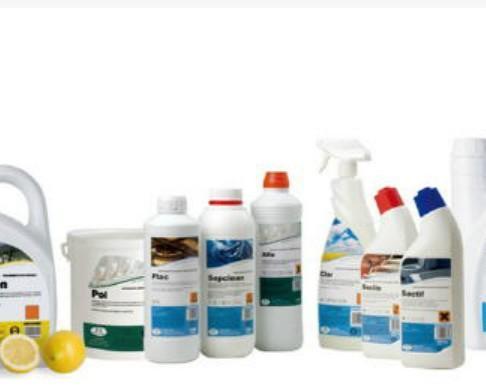 Productos de limpieza. Amplio abanico de productos de limpieza