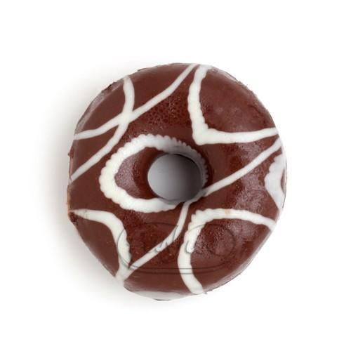 Donut de chocolate. Donuts de chocolate y donuts de azúcar
