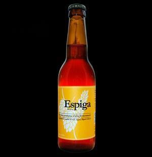 Cerveza Artesanal.Cerveza artesanal Espiga Bruna