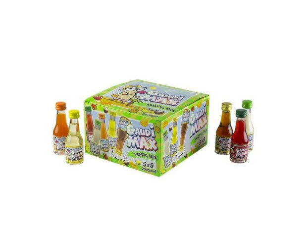 TROPIC MIX /CHUPITOS. En esta caja son chupitos tropicales, piña colada, sex on the beach, disfrútalos.
