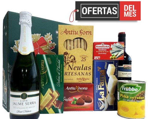 Lotes de navidad. Lotes de navidad para empresas desde 12€ más IVA