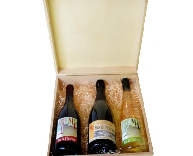 Botellas de vino. Gran variedad de vinos