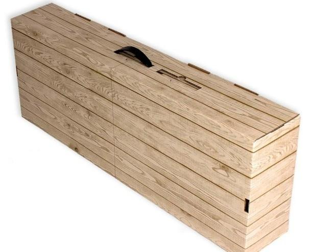 Caja cartón jamonera. Caja cartón jamonera