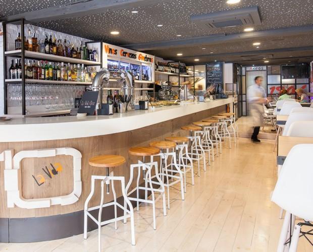 Cafetería La Vida 10. Instalación integral de cafetería