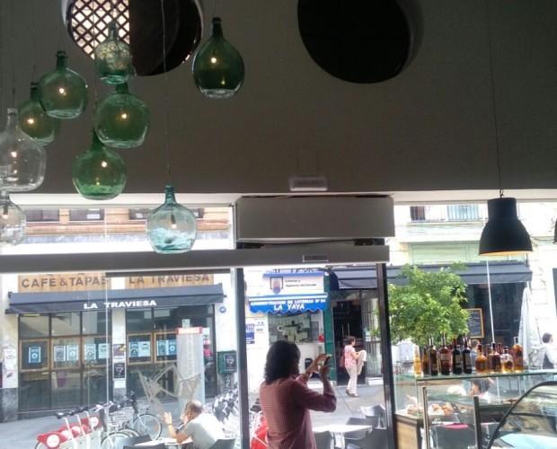 Decoración para Bares.Proyecto realizado de cafetería