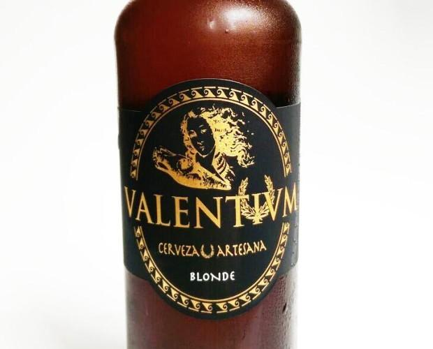 Cerveza Artesanal.Cerveza Valemtivm Blonde