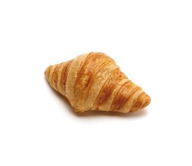 Croissant. Croissant ligero en grasas