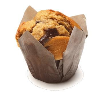 Muffins. Muffin de capuccino y chocolate, 100 gramos