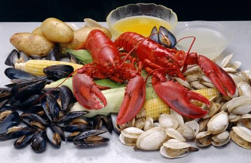 Pescados y Mariscos. Pescados congelados, marisco, crustaceos, pulpo