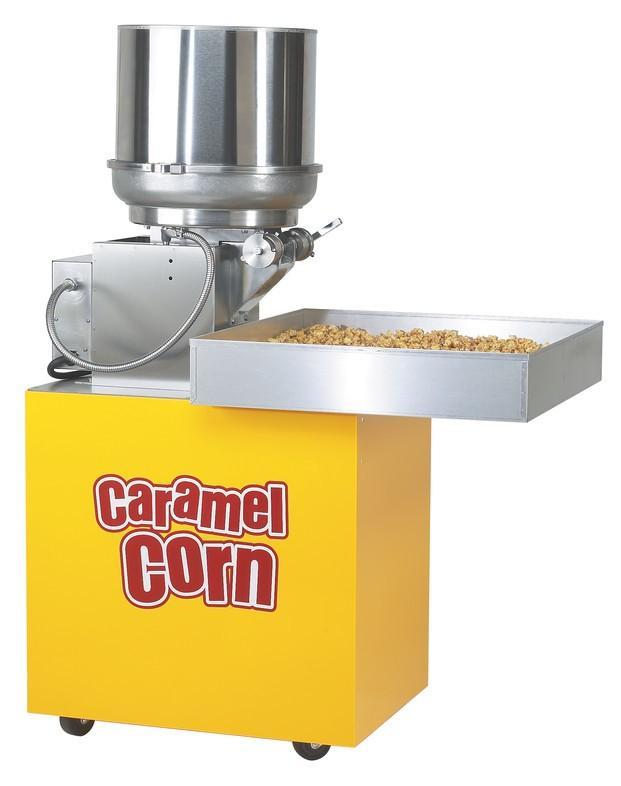 Máquina para caramelizar. Caramelizadora de palomitas