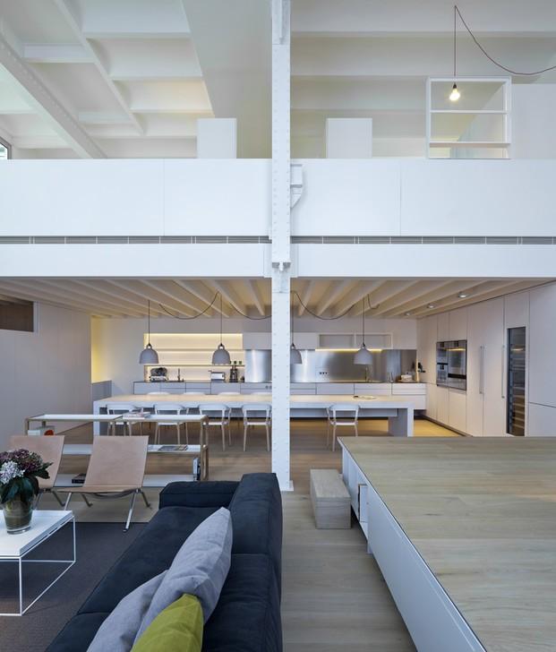 Interiorismo. Reforma interior de un antiguo espacio industrial.