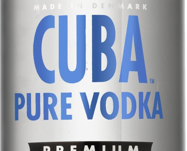 Vodka. Vodka Puro CUBA