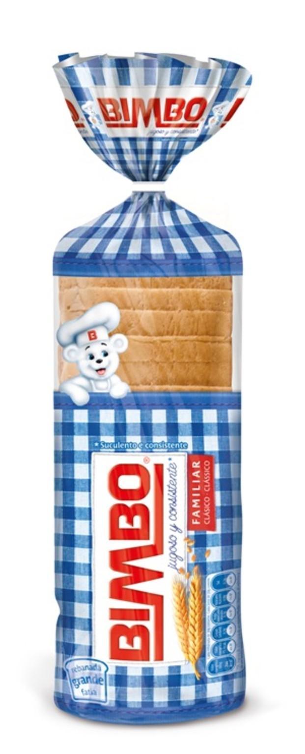 Pan de Molde. BIMBO Con Corteza de toda la vida. Todo un clásico.