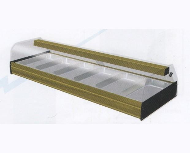 Vitrinas Refrigeradas.Disponible en dos pisos con motor incorporado