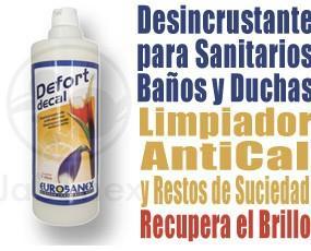 Antical Defort Decal. Limpiador antical. Desincrustante para sanitarios.