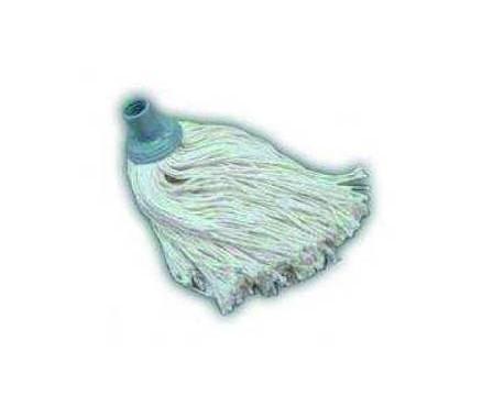 Fregona de algodón. Fregona extra de algodón crudo de 190 gramos