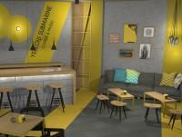 Diseño cafeteria