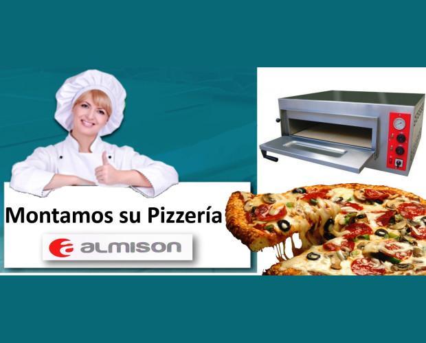 Almison Pizzería  . Montamos su pizzerías