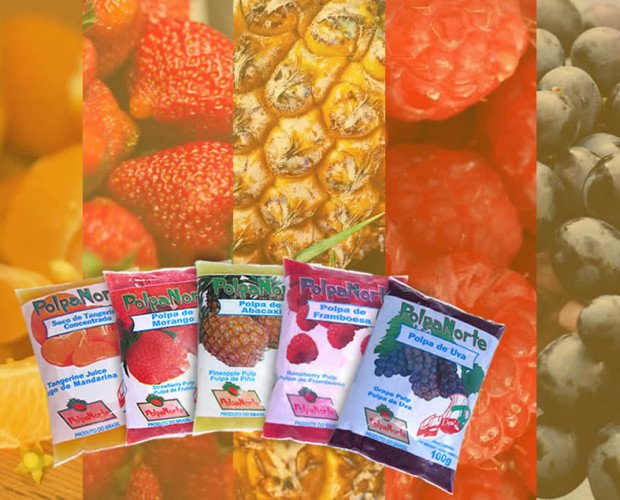 Frutas Congeladas.Frutos seleccionados